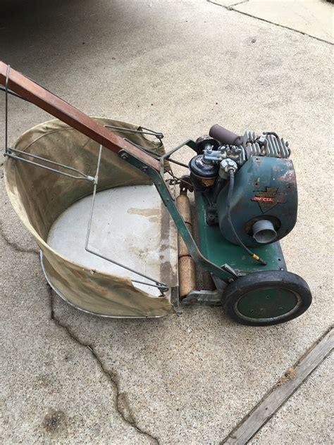 pin  vintage mowers