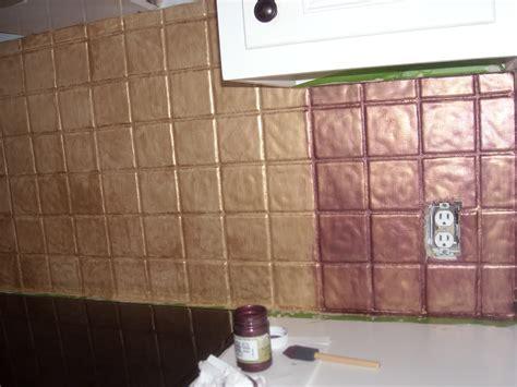 painted tiles for kitchen backsplash yes you can paint tile i turned my backsplash