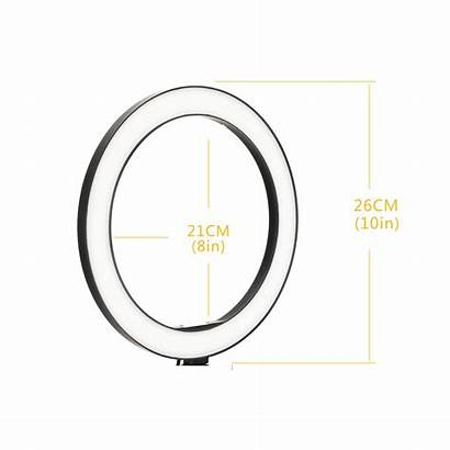 Ring Led Ringlight Dimmable Lamp Camera Phone