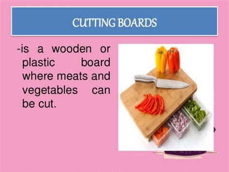 kitchen knives and their uses use and maintain kitchen tools and equipment
