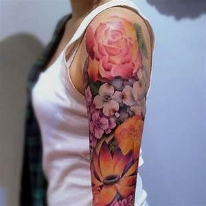 Rose En Tatouage : tatouage rose paule ces tatouages de rose qui ne faneront jamais elle ~ Farleysfitness.com Idées de Décoration