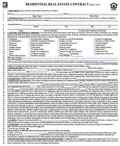sale contract form samples   word