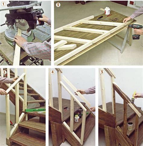 ringhiera in ferro fai da te come costruire una ringhiera in legno con il fai da te