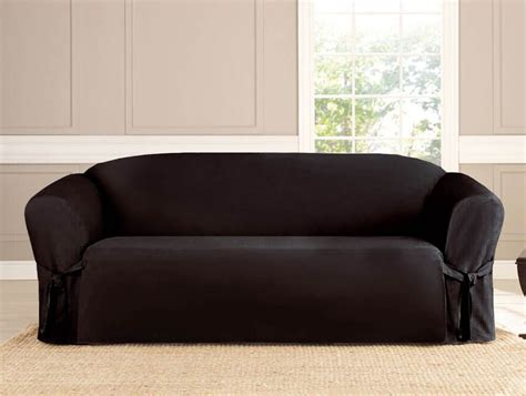 Black Loveseat Cover by 3 Pc Micro Suede Furniture Slipcover Sofa Loveseat Chair