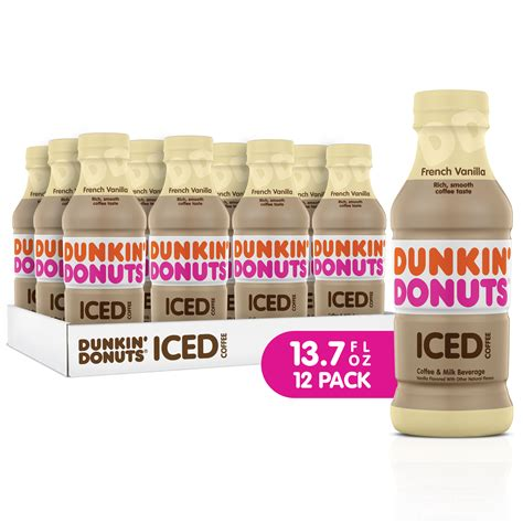 This subreddit is for all things related to dunkin donuts. (12 Bottles) Dunkin' Donuts Iced Coffee Drink, French ...