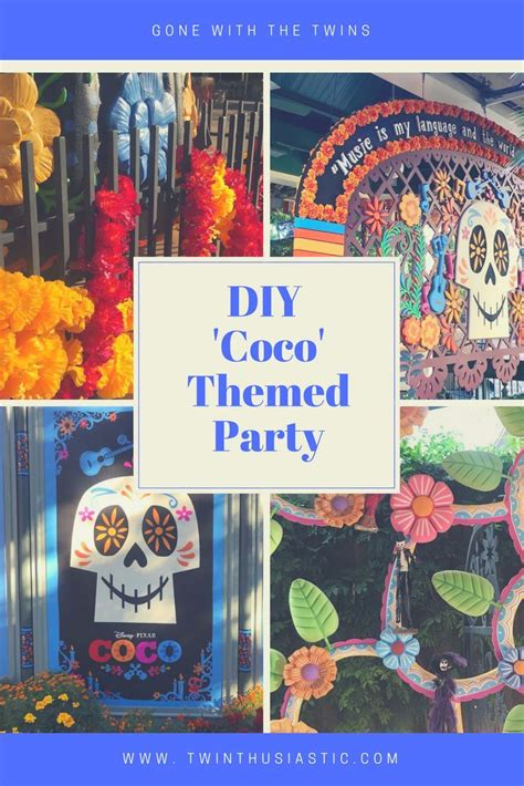 diy disney pixar coco themed party ideas  ninja