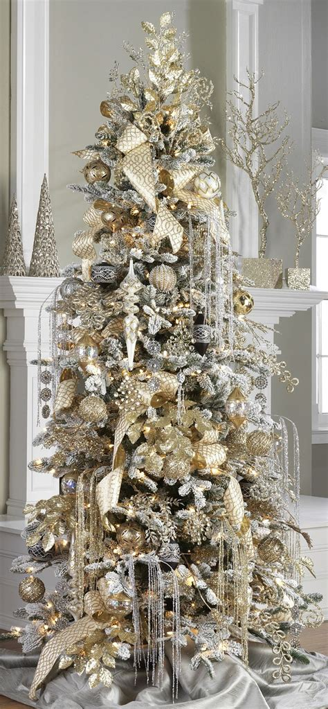 elegant christmas trees ideas   pinterest