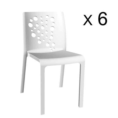 lot 6 chaises pas cher lot de 6 chaises de jardin pas cher