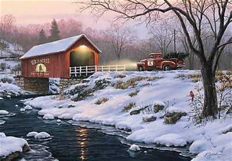 country christmas christmas greeting cards assortment
