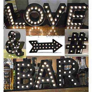light up marquee letters symbols led lights black With black marquee letters with lights