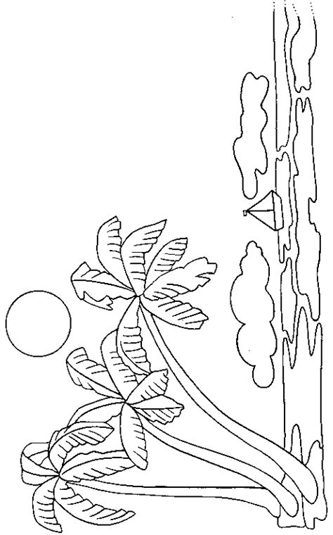 coconut tree coloring  coloring pages  art