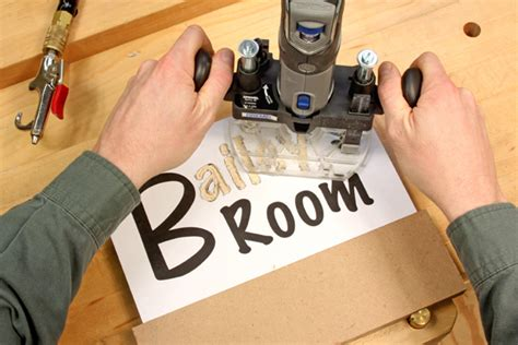Wood Router Letter Templates by Signs Lettering Templates Woodworker S Journal How To