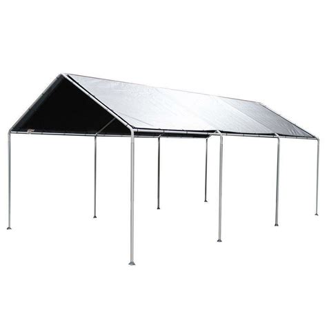 king canopy replacement cover fits  ft   ft frame  silver   ebay