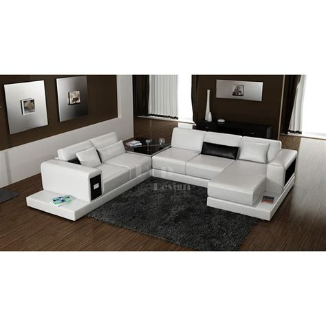 canape d angle panoramique cuir canapé d 39 angle design panoramique en cuir arezzo pop