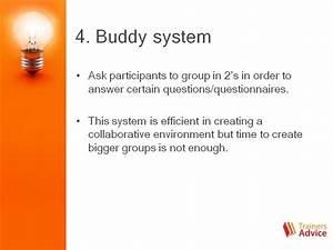 Buddy system for group engagement