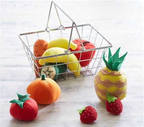 mini grocery basket fruit pottery barn kids au