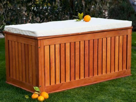 Le Banc Coffre De Jardin  Belles Idées Pour Votre Jardin
