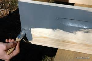 Painting Bee Hive Boxes
