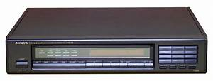 Onkyo T-4850 - Manual - Stereo Am  Fm Tuner