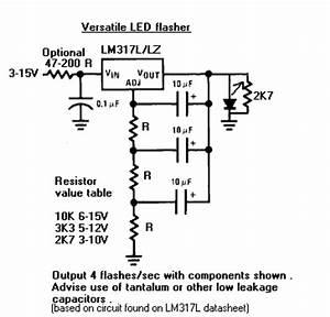 led flasher With led circuitdb