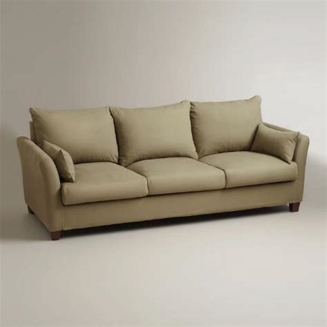 World Market Luxe Sofa Slipcover Charcoal by Luxe 3 Seat Sofa Slipcover World Market