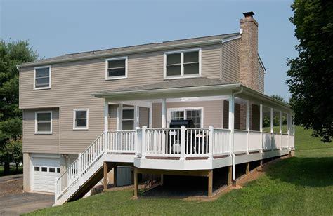 wrap  porch bel air construction maryland