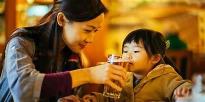 Alcohol Child Drinking Children Drink Sip Problems