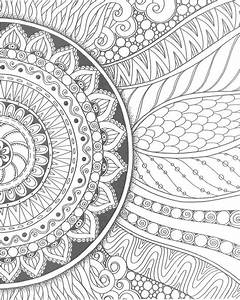 Flower Pattern Drawing at PaintingValley.com | Explore ...