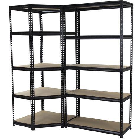 Shelving And Storage Units by Qiq Fix 5 Shelf Corner Storage Unit I N 2760255 Bunnings