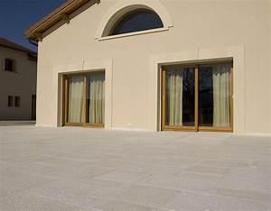 Dalle Pierre Terrasse : dalle terrasse pierre 40 x 40 4 cm blanc ~ Preciouscoupons.com Idées de Décoration
