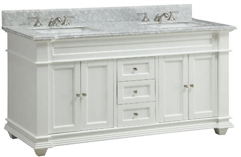 60 Inch Bathroom Vanity Cottage Shaker Beach Style White