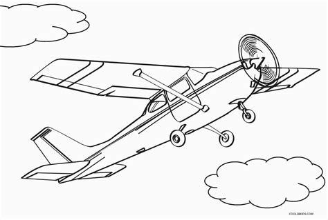 printable airplane coloring pages  kids coolbkids