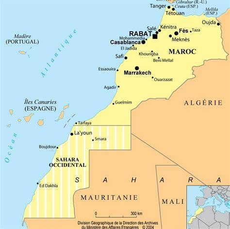 Carte Villes Maroc Pdf by Carte Du Maroc Vierge