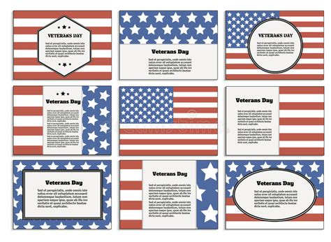 veterans day program template veterans day poster brochure stock vector image 61814998