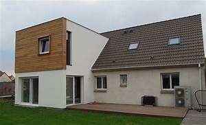 Prix Kit Maison Bois : prix maison ossature bois en kit taille de charpente bois ~ Premium-room.com Idées de Décoration