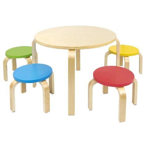 chaise de table pour bébé table et 4 chaises enfant meuble enfant mobilier chaise d