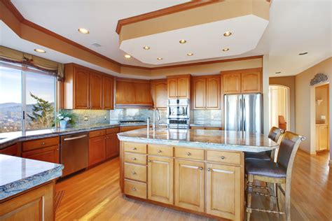 Kitchen Soffit Ideas - what do you call the drop ceiling above kitchen cabinets ehow