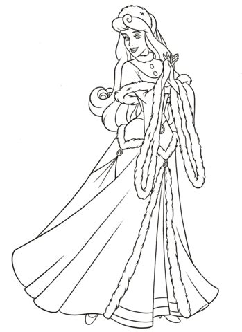 aurora coloring page  printable coloring pages