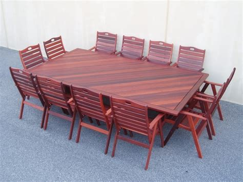 12 seater outdoor table 12 x seater wanaka table timber outdoor furniture perth