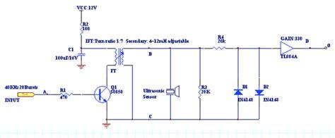sensor   measure output   ultrasonic