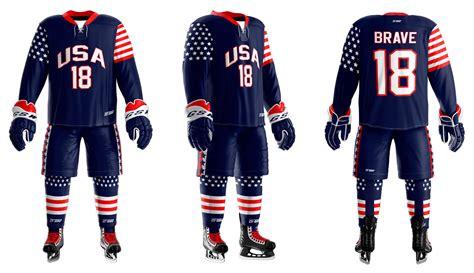custom sublimated hockey team uniforms gitch sportswear