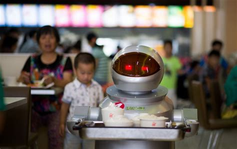 robo cuisine robo cook android restaurant boots up in china