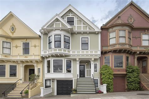 Flair San Francisco Townhome by Pre 1906 Retains Period Details Adds