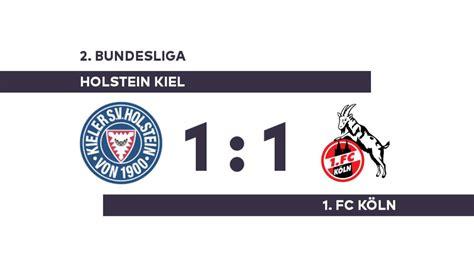 Holstein kiel vs 1.fc koln. Holstein Kiel - 1. FC Köln: Mörschel macht Last-Minute-Remis perfekt - 2. Bundesliga - WELT