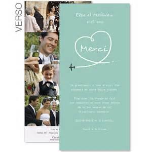 mot de remerciement mariage carte de remerciement mariage style voyage