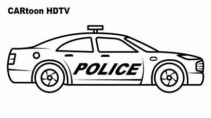 Police Coloring Pages Colors Vehicles