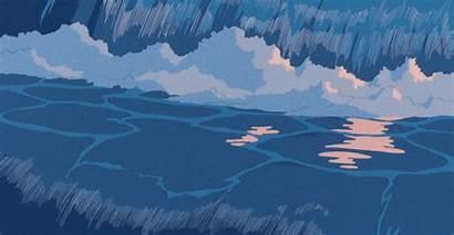 Anime Aesthetic Water Animated Heart Follow