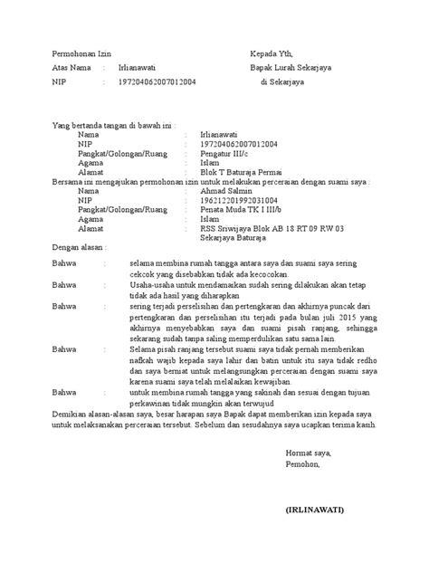 Rumah tangga memang tidak selalu bertahan dengan baik, dan ada pasangan tertentu yang tidak bisa mempertahankan rumah tangganya memilih. Contoh Surat Pernyataan Perjanjian Cerai / 16 Contoh Surat Kesepakatan Bersama Harta Gono Gini ...