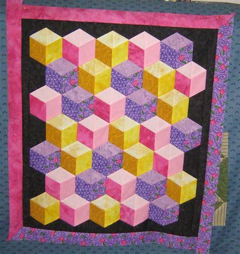 tumbling block quilt pattern template free tumbling block quilt pattern free patterns baby