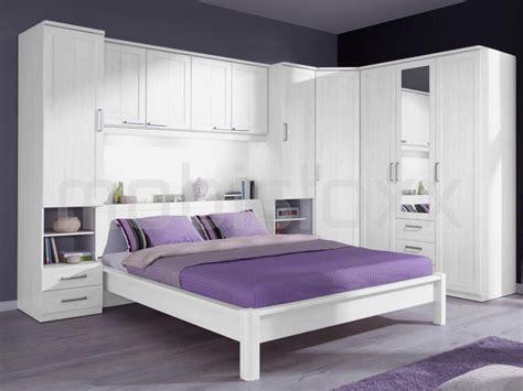 assurance chambre chambre complète lucky 180x200 cm chêne blanc cérusé chez